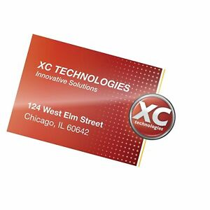 Banner American Premium Laminating Pouches Business Card 2 1 4 X 3 3 4 5 Mil