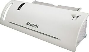 Scotch Thermal Laminator Value Pack With 20 Letter Size Pouches 2657100