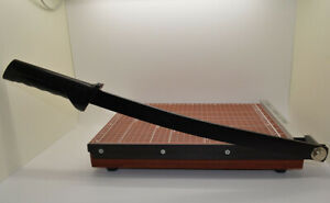 Deli A4 Wooden Portable Paper Cutter Machine For Home Office