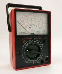 Vintage Triplett Model 60 Type 2 Suspension Ruggedized Analog Volt ohm Meter