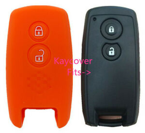 Orange Silicone Car Cover For Suzuki Smart Key Grand Vitara Swift Sx4 Jlx