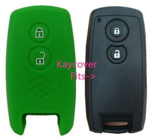 Green Silicone Car Cover For Suzuki Smart Key Grand Vitara Swift Sx4 Jlx