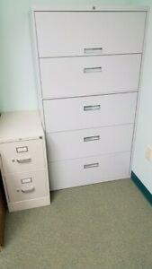 Reduced Large 4 Drawer Lateral Grey File Cabinet used 175 marietta Ga