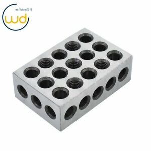 5 Matched Pairs Ultra Precision 1 2 3 Blocks 23 Holes 0001 Machinist 123