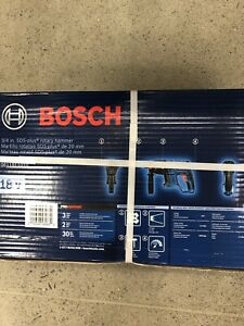 Bosch 3 4 Rotary Hammer Drill 18v New In Box Bare Tool Sds Plus