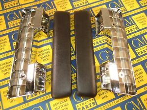 1964 1967 Buick Chevy Olds Pontiac Front Arm Rest Assemblies Pair Free Ship