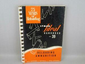 Vintage  Ideal Reloading Ammunition Hand Book #39 1953
