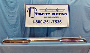 1960 60 1961 61 1962 62 Plymouth Valiant Rear Bumper Show Chrome