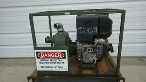 Water Pump 65 Gpm Self primed Diesel American Marsh Lombardini Nos