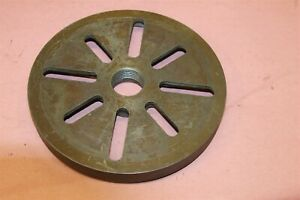 Atlas Craftsman Lathe 12 Model 101 07403 Face Plate 8 1 2 Diameter 9 635