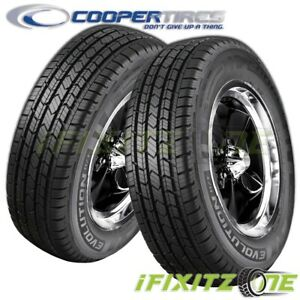 2 Cooper Evolution H t Highway All Season 255 70r16 111t Suv Cuv M s Rated Tires