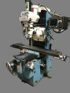 Southwestern Industries Trak Trm 2 axis Cnc Bed Mill