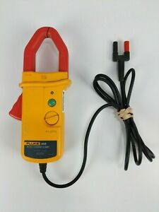 Clean Used Fluke I410 Ac dc Current Clamp 600v Clamp Cat Iii Meter