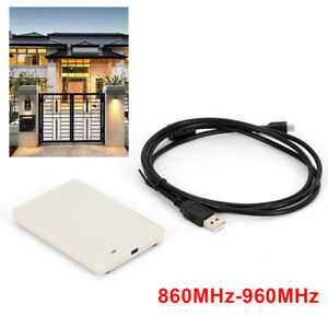 Uhf Rfid Reader Writer Usb Cable Iso18000 6b Electronic Tag Reader writer copier