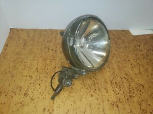 Dietz Spotlight Spot Light Military Green Jeep Search Fire Truck Fog Vintage