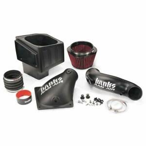 Banks Power Ram Air Intake With Oiled Filter For 10 12 Dodge Cummins 6 7l Diesel