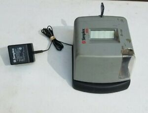 Simplex 100 Time Clock With Power Adapter And Key