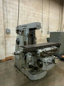 1960 s Cincinnati dial type Horizontal Mill Model 207 12