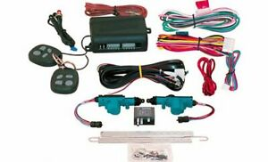 Electric Life 95120 Keyless Entry System 2 Door Two Remotes Kit