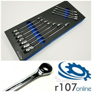 Blue Point 11pc 8 21mm Ratchet Wrench Spanner Set Incl Vat As Sold By Snap On