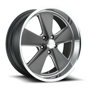 20x9 5 Et1 Us Mag U120 Roadster 5x127 Anthracite W polished Lip Rims set Of 4