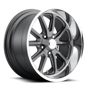 18x9 5 Et1 Us Mag U111 Rambler 5x120 7 Matte Anthracite Rims set Of 4