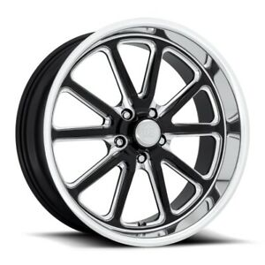 18x9 5 Et1 Us Mag U117 Rambler 5x127 Black Milled Rims set Of 4
