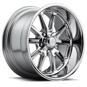 18x9 5 Et1 Us Mag U110 Rambler 5x120 7 Chrome Rims set Of 4