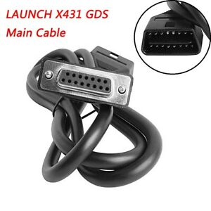Genuine Obd2 16 Pin Main Cable Test Wire For Launch X431 Gds Creader Vii viii