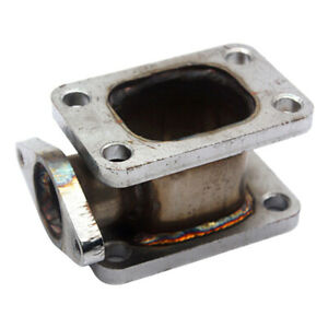 T3 To T3 Turbo Adapter Flange Cast 38mm External Wastegate Relocation