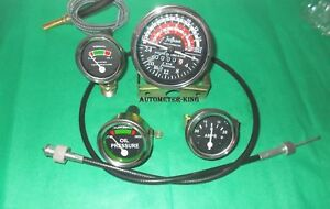 Massey Harris 50 Ferguson 50 Tractor Tachometer Guages Kit With Tacho Cable
