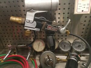 Metco 5p Gun Tested Fully Functional Flame Spray Extras 6p Metalizing
