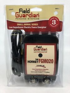 New And Sealed Field Guardian Fencing Systems Fgm020 Wasp For Small Animals