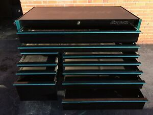 Snap on Krl7022dwcx Limited Edition Dark Rider Tool Box Roll Cabinet Tool Chest