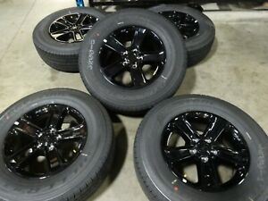 5 18 Jeep Wrangler Jl Factory Oem Black Wheels Rims Tires Jk Gladiator 9221b