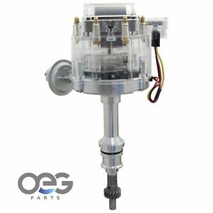 New Hei Distributor For Ford 351w 5 8 V8 Sbf Direct Fit Hei Replacement