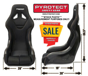 Pyrotect Ultra mini Series Race Seat Fia 8855 1999 Approved