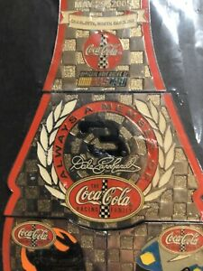 Coca-Cola 600 Racing Family Limited Edition Complete Pin Set Bottle NASCAR COKE