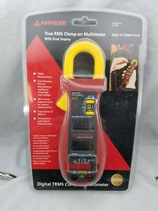 Amprobe Acd 14 Trms Plus 600a Clamp on Multimeter Dual Display