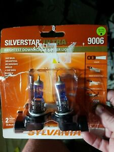 Sylvania Silverstar Ultra Headlight Bulbs 9006