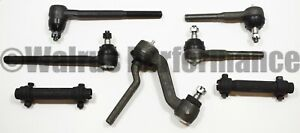 Steering Rebuild Kit Tie Rods idler Arm For 1968 69 Chevy Camaro 1968 74 Nova