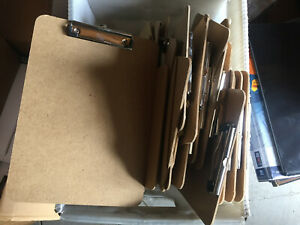 Lot Of 20 Craft Board Style Clipboards For Home Office Business Use Craft New