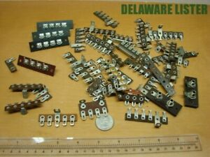 Mixed Lot Of Vintage Wiring Wire Electric Terminal Connectors Block strip Nos