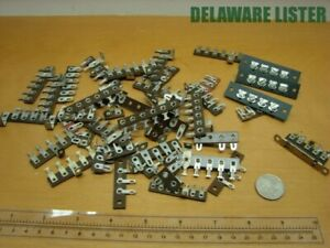 Mixed Lot Of Vintage Wiring Wire Electric Terminal Connectors Block strip Nos 2