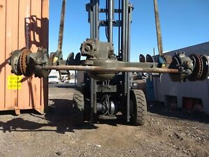 Military M35a2 Rockwell 2 5 Ton Front Axle Disc Brake 4 Link Coilover
