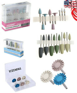 Dental Composite Polishing Kit diamond System resin Base Hidden Polishing