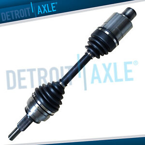 Complete Front Cv Axle Shaft Assembly For 2006 2007 2008 2011 Dodge Ram 1500 4wd