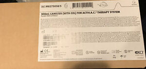Kci 300ml Canister with Gel For Activac Therapy System New In Box 5 Pack