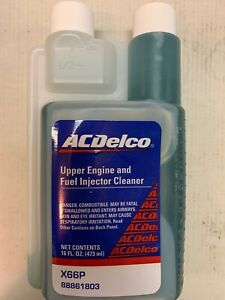 Acdelco X66p 88861803 Upper Engine And Fuel Injector Cleaner 16 Oz New