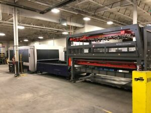 Bystronic Bysprint 3kw 3015 W Bytrans Extended Cnc Fiber Laser W Shuttle Table